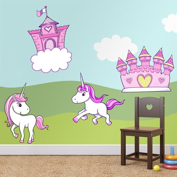 Wall Stickers: Magical worlds