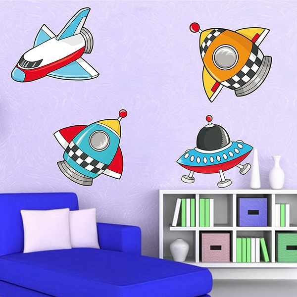 Stickers for Kids: Space 2