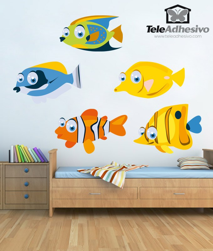 6 Poster poster mural fish child ref 1945456 dimensions