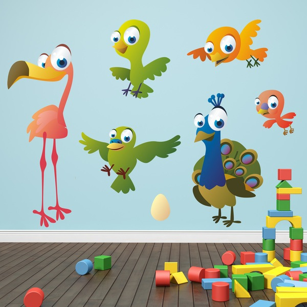 Stickers for Kids: Birds kit