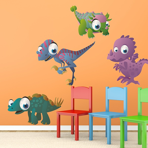 Stickers for Kids: Kit of Dinosaurs