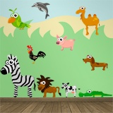 Stickers for Kids: Miscellaneous Animals Kit 4