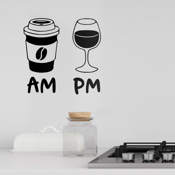 Wall Stickers: Coffee and Wine