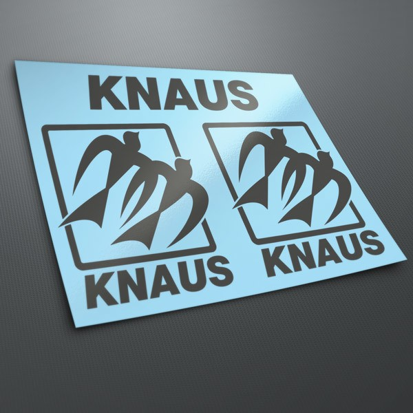 Car & Motorbike Stickers: Kit Knaus 3