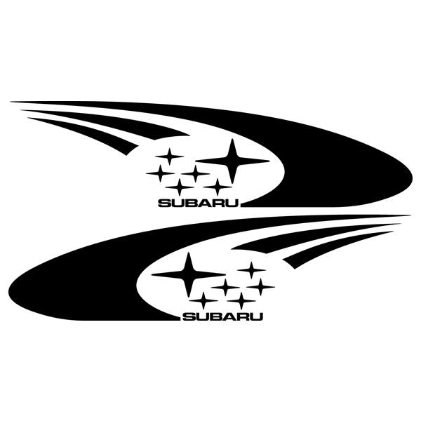 Car and Motorbike Stickers: Subaru Impreza WRC 2003
