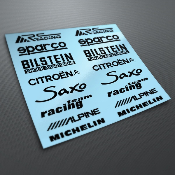 Car & Motorbike Stickers: Kit tuning 20