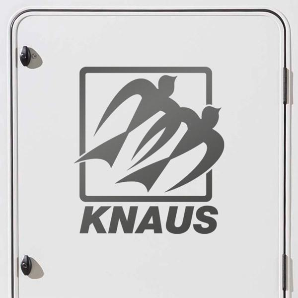 Car & Motorbike Stickers: Knaus Logo