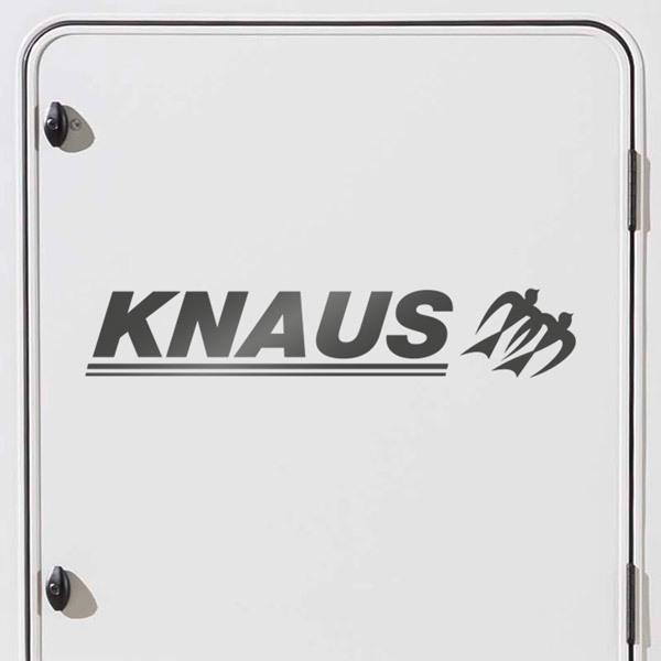 Car & Motorbike Stickers: Knaus Travelino