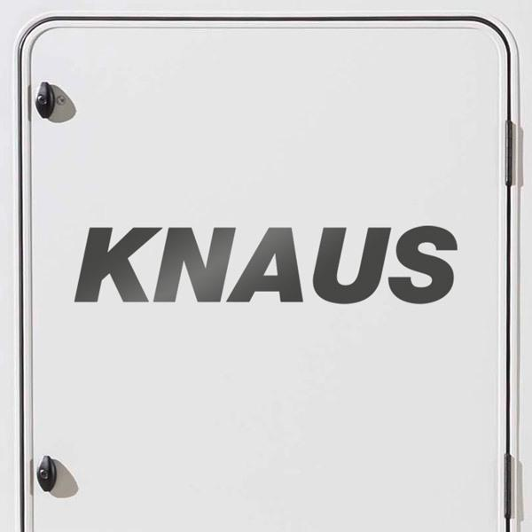Car & Motorbike Stickers: Campers Knaus