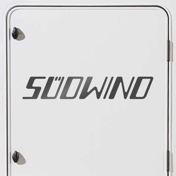 Car & Motorbike Stickers: Knaus Südwind