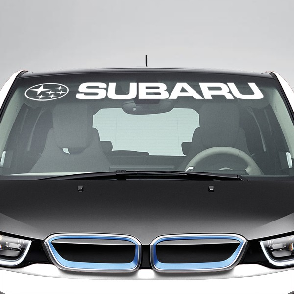 Car & Motorbike Stickers: Subaru Windshield Sunstrip