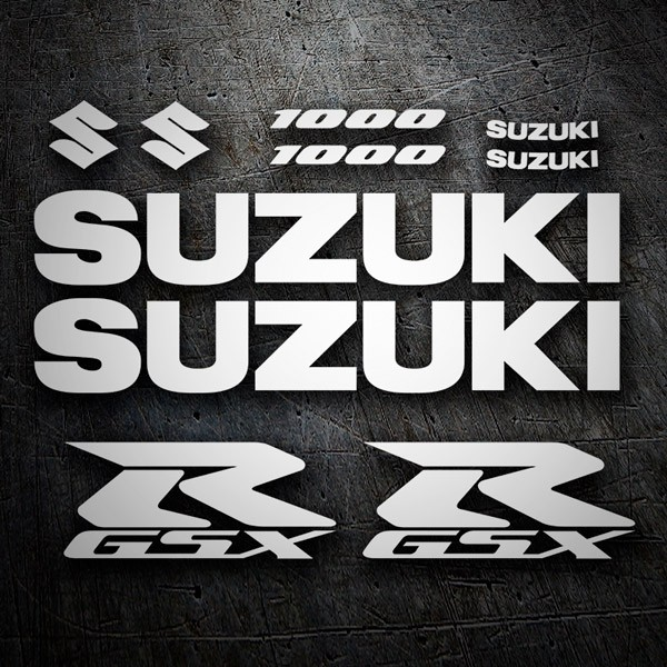 Car & Motorbike Stickers: GSXR 1000-2004
