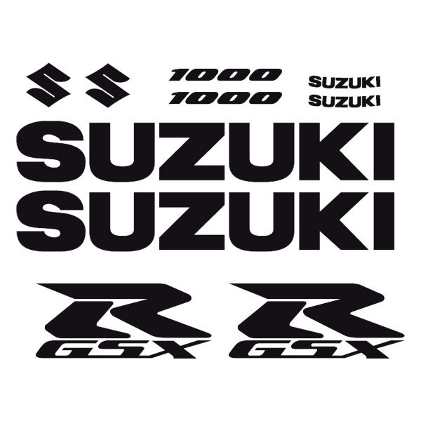Car and Motorbike Stickers: GSXR 1000-2004