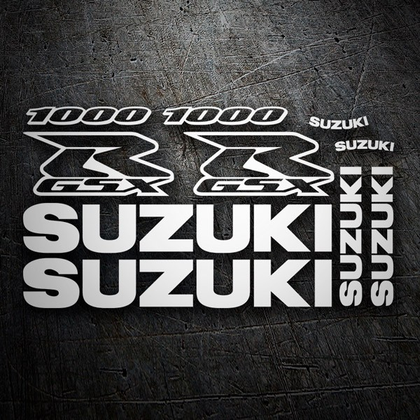 Car & Motorbike Stickers: GSXR 1000 2002