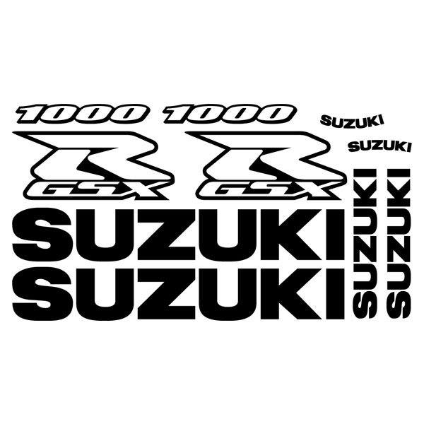 Car and Motorbike Stickers: GSXR 1000 2002