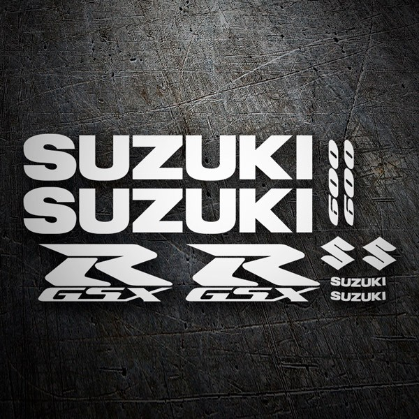 Car & Motorbike Stickers: GSXR 600 2004