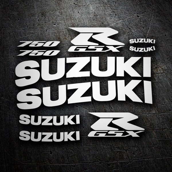 Car & Motorbike Stickers: GSXR 750 2001