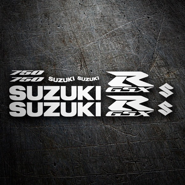 Car and Motorbike Stickers: GSXR 750 2006-1
