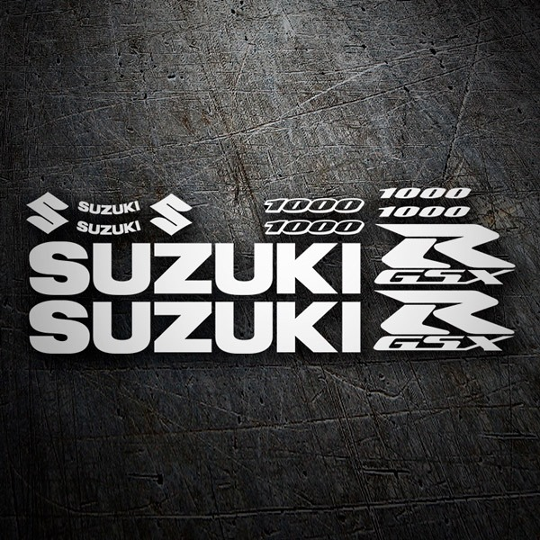 Car & Motorbike Stickers: GSXR 1000 Contour 2006