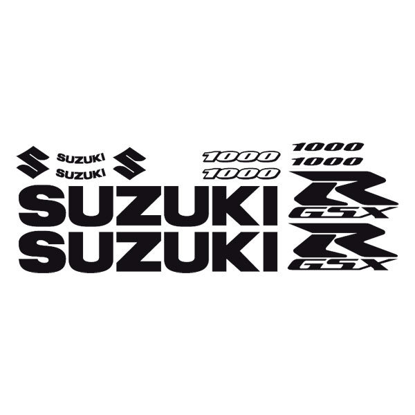 Car and Motorbike Stickers: GSXR 1000 2005-06
