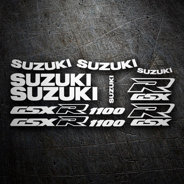 Car & Motorbike Stickers: GSXR 1100 1991