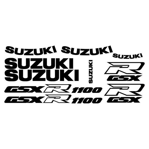 Car and Motorbike Stickers: GSXR 1100 1991