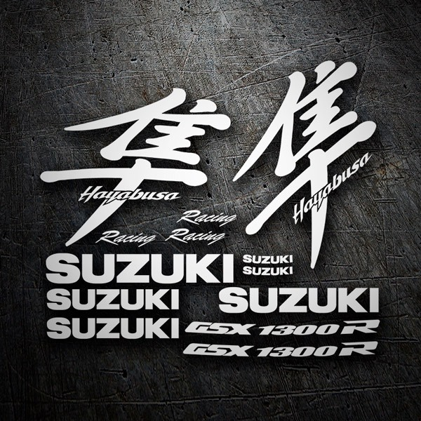 Car & Motorbike Stickers: GSX 1300R Hayabusa