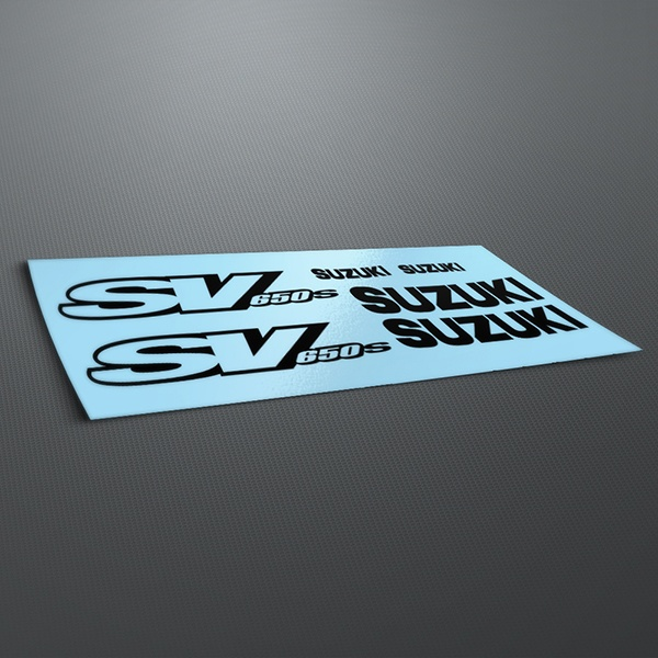 Car & Motorbike Stickers: SV 650 2001