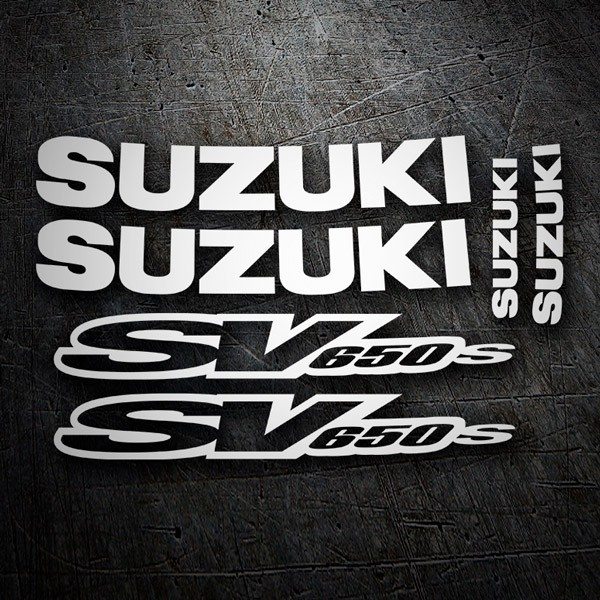Car & Motorbike Stickers: SV 650 contour 2001