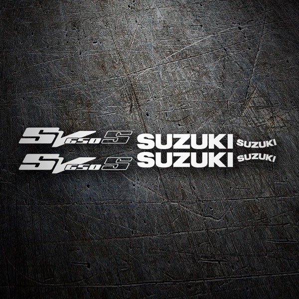 Car & Motorbike Stickers: SV 650 2003