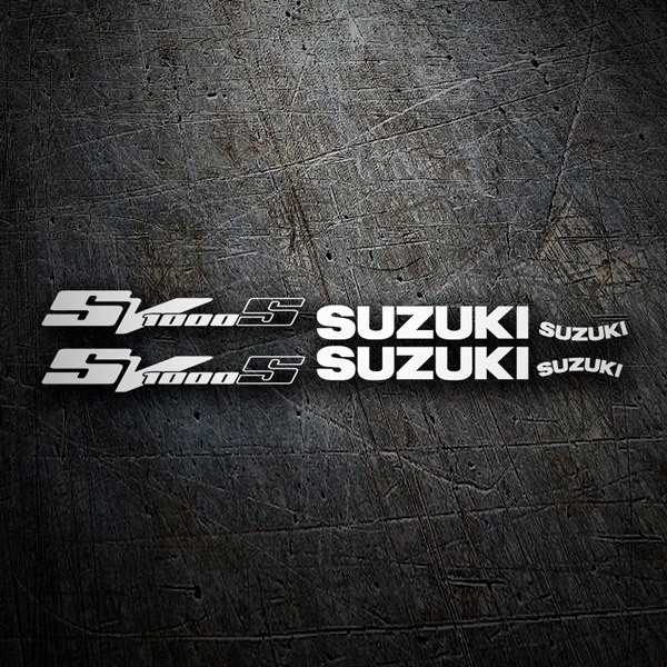 Car & Motorbike Stickers: SV 1000 2003