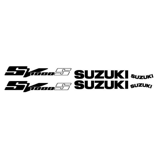 Car and Motorbike Stickers: SV 1000 2003
