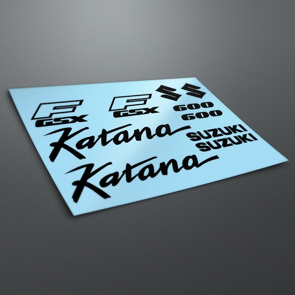 Car & Motorbike Stickers: Katana 600 1990