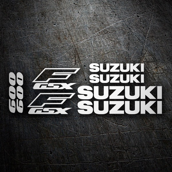 Car & Motorbike Stickers: Katana GSX600F 1990