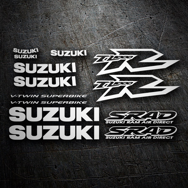 Car & Motorbike Stickers: Suzuki TL 1000R v-twin superbike