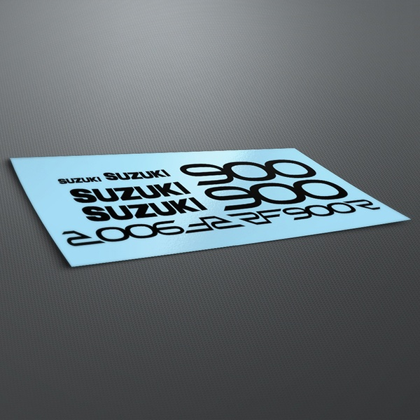 Car & Motorbike Stickers: RF900R 1994-95