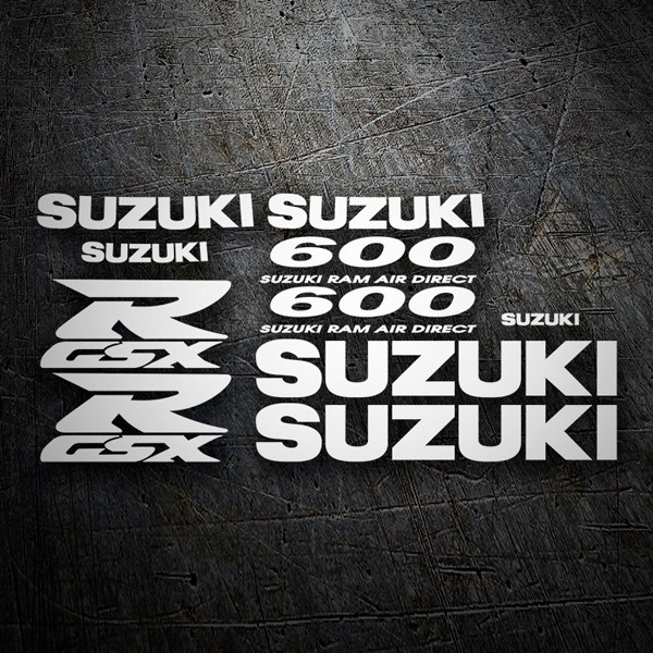 Car & Motorbike Stickers: GSXR 600 SRAD