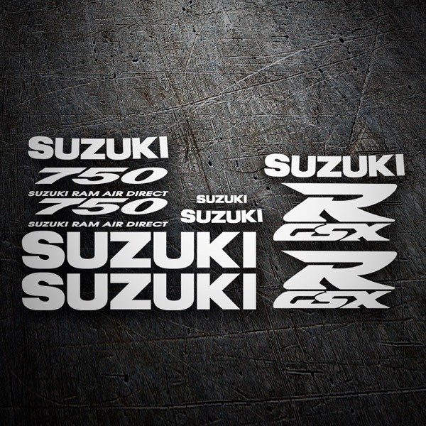 Car & Motorbike Stickers: GSXR 750 1996