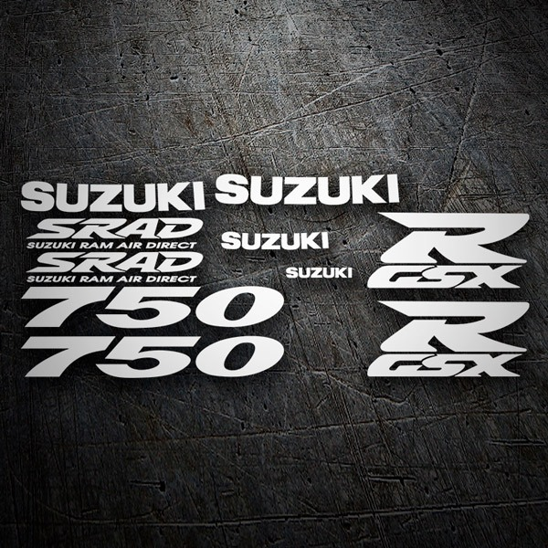 Car & Motorbike Stickers: GSXR 750 1997