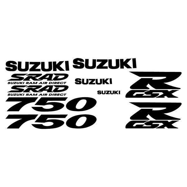 Car and Motorbike Stickers: GSXR 750 1997