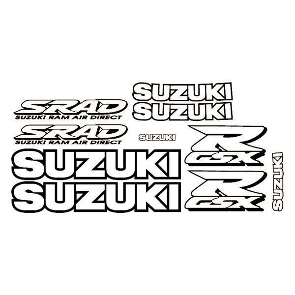 Car and Motorbike Stickers: GSXR 1998