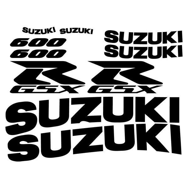 Car and Motorbike Stickers: GSXR 600 2002