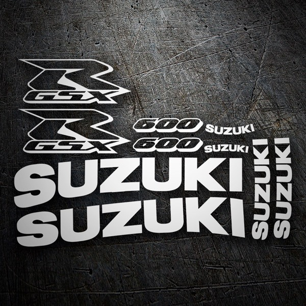 Car & Motorbike Stickers: GSXR 600 2003