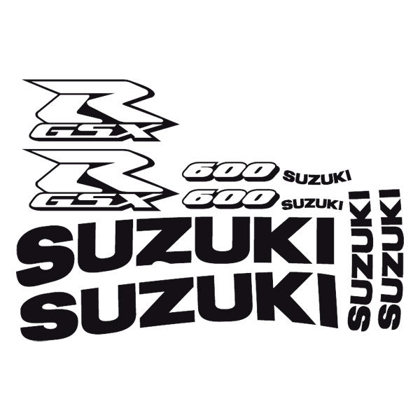 Car and Motorbike Stickers: GSXR 600 2003