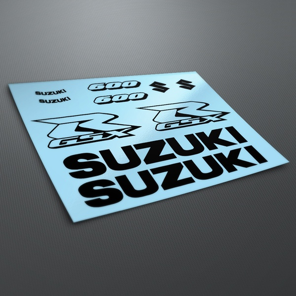 Car & Motorbike Stickers: GSXR 600 Contour 2004