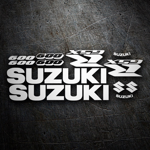 Car & Motorbike Stickers: GSXR 600 2005