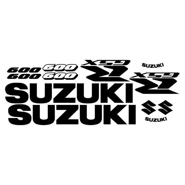 Car and Motorbike Stickers: GSXR 600 2005