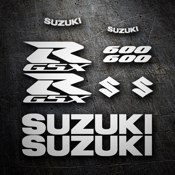 Car & Motorbike Stickers: GSXR 600 2006