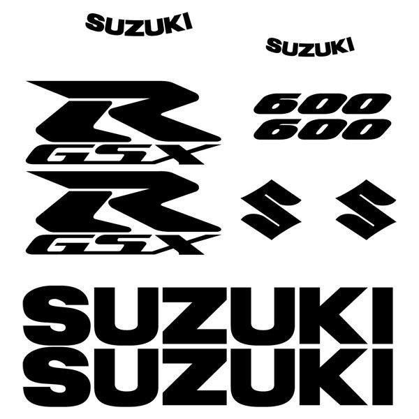Car and Motorbike Stickers: GSXR 600 2006