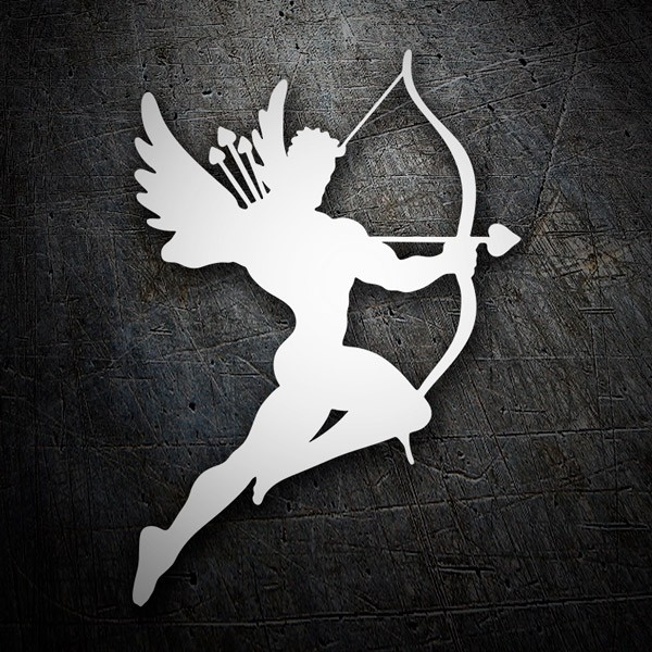 Wall Stickers: Athletic Cupid